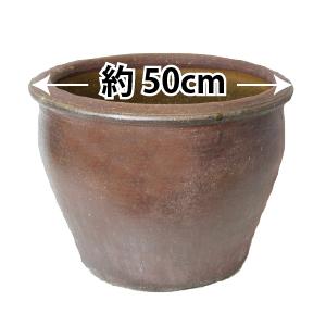 ハス(蓮)用・陶器鉢